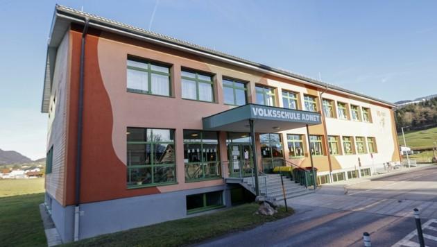 In Adnet wird schon bald die Volksschule für 15 Millionen Euro weiter aus- und umgebaut (Bild: Tschepp Markus)