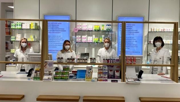 Die Zeller Apotheke darf trotz Nähe zu einem Ärztezentrum keine Medikamente verkaufen. (Bild: Fritz Lengauer)