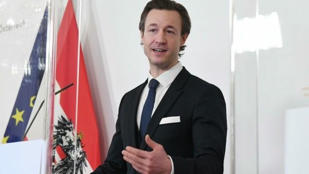 Finanzminister Gernot Blümel (ÖVP) (Bild: APA/Helmut Fohringer)