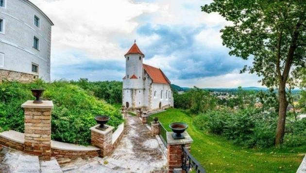 Das Schloss Viehofen wurde erstmals im Jahr 1130 schriftlich erwähnt und steht heuer für Hochzeiten zur Verfügung (Bild: Arman Kalteis)