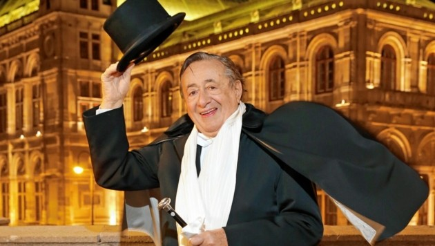 Eine Liebesgeschichte: Richard Lugner und die Oper (Bild: Klemens Groh)