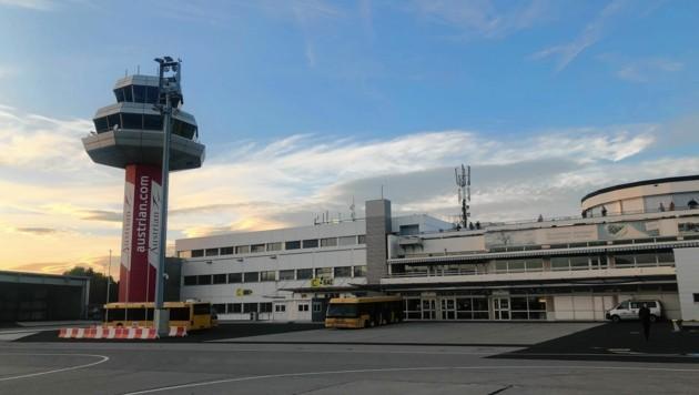 Der Klagenfurter Flughafen (Bild: Christian Rosenzopf)