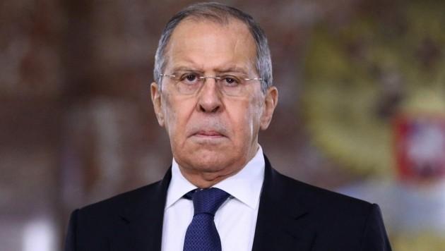 Russlands Außenminister Sergei Lawrow (Bild: AFP)