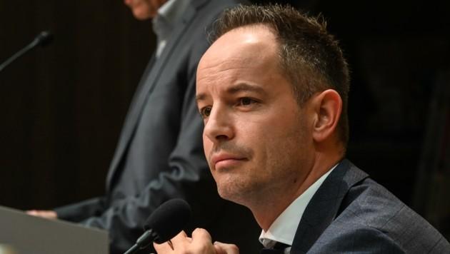 Vize Markus Lassenberger (FPÖ) war Georg Willi von Beginn an ein Dorn im Auge. (Bild: LIEBL Daniel | zeitungsfoto.at)