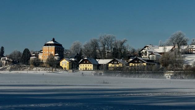lauer Himmel bei der Seeburg in Seekirchen (Bild: Franz Sommeregger)