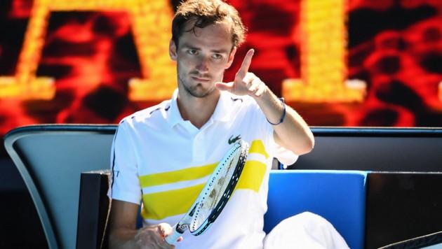 Daniil Medwedew (Bild: AFP )