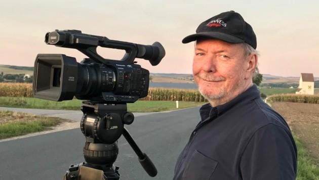 Der leidenschaftliche Filmer Ronald P. Vaughan schrieb Fernsehgeschichte. (Bild: Privat)