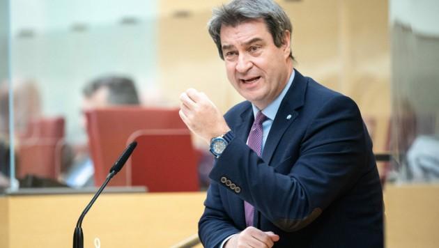 Der bayrische Ministerpräsident und CSU-Chef Markus Söder hat in der Bevölkerung stark an Zustimmung eingebüßt. (Bild: AFP)