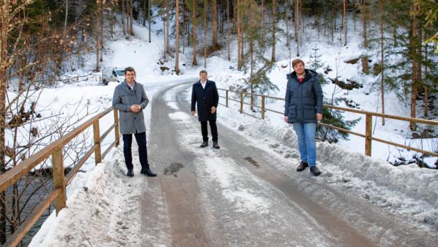 Die für die Bauern wichtige Steinbrücke in Albeck wird saniert. (Bild: LR Grubber/Taltavull)