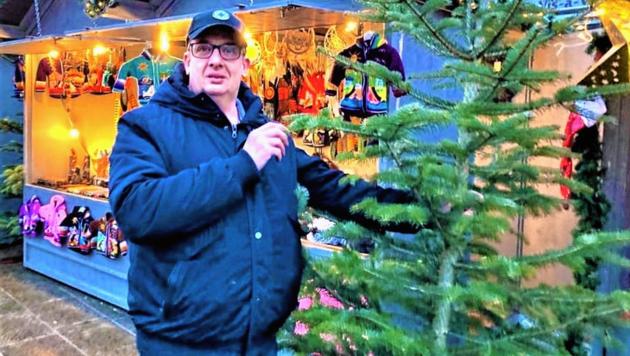 """Im Weihnachtsfilm """"WhiteChristmas"""" bekommt Sigi erstmals eine Sprechrolle. (Bild: Christian Tragner)"""