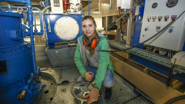 Frauen können sich bei den Aktionstagen über technische Berufe informieren. (Bild: MARKUS TSCHEPP)