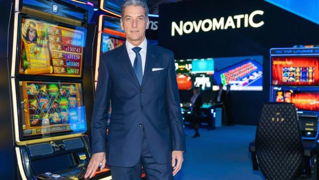 Der ehemalige Novomatic-Chef Harald Neumann (Bild: APA/THOMAS MEYER PHOTOGRAPHY)