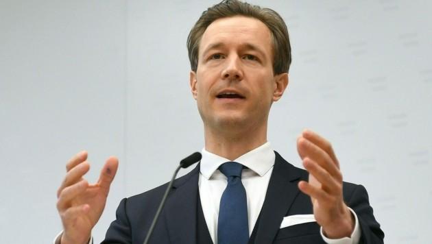 Finanzminister Gernot Blümel (Bild: APA/HELMUT FOHRINGER)
