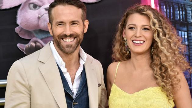 Ryan Reynolds und Blake Lively (Bild: 2019 Getty Images)