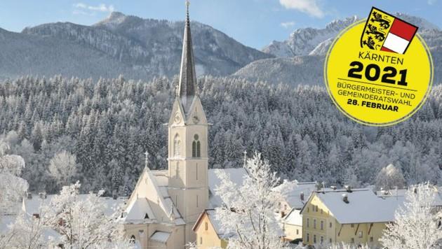 Der Bezirk am Fuß der Karnischen Alpen ist mit seiner Bezirksstadt Hermagor auch als ganz besonders schneereich bekannt. (Bild: zVg/Gemeinde Hermagor)