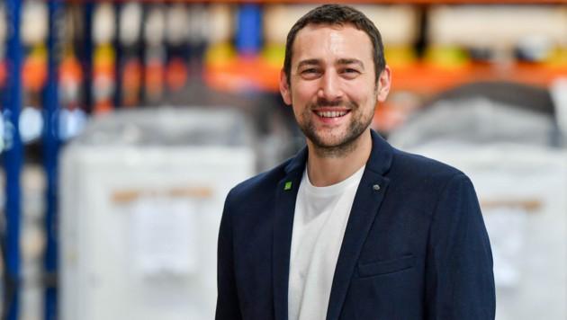 Stefan Ortner ist Chef von insgesamt 450 Mitarbeitern, davon sind 180 im Mühlviertel tätig. (Bild: Harald Dostal)