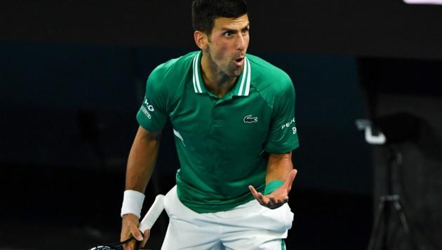 Novak Djokovic (Bild: AFP )