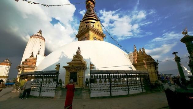 Die Hauptstadt Kathmandu ist Sitz der Hilfsorganisation Shenpen. (Bild: Grammer Karl)