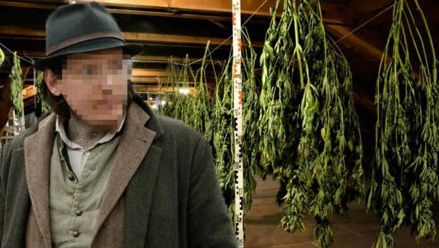 Fünf Kilo Cannabisblüten fanden Kriminalisten in dem Haus (Bild: Landespolizeidirektion Salzburg/Markus Tschepp)
