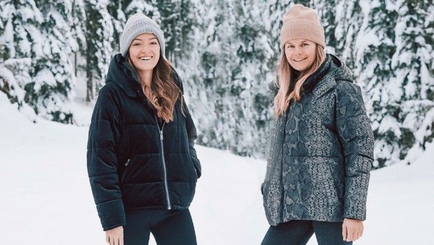 Tiroler Jung-Autorinnen: Anna Matt (links) und Nina Gigele. (Bild: Nina Gigele)