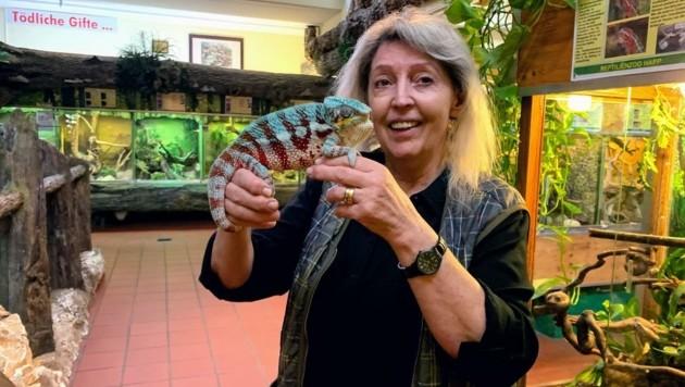 """Zoochefin Happ: """"Auch viele Tiere sind Opfer der Krise!"""" (Bild: Wassermann Kerstin)"""