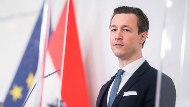 Finanzminister Gernot Blümel (ÖVP) (Bild: APA/Georg Hochmuth)