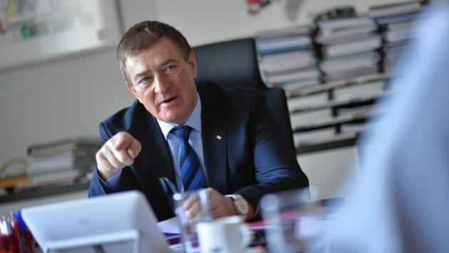 AK-Präsident Günther Goach (Bild: ©HelgeBauer)