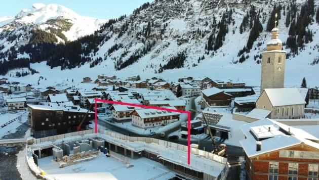 Lech am Arlberg - aktuell und wohl auch noch in nächster Zeit eine Baustelle. (Bild: Maurice Shourot)