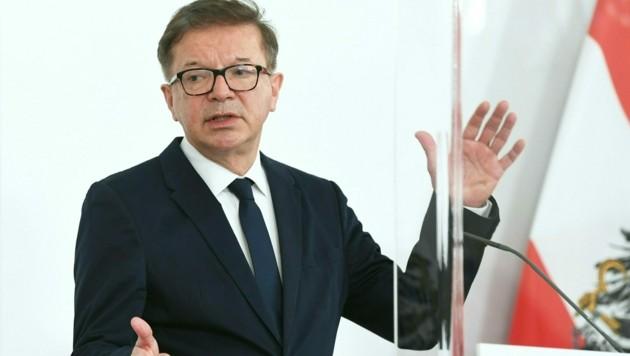 "Gesundheitsminister Anschober: ""Das Virus wird uns bleiben."" (Bild: APA/Helmut Fohringer)"