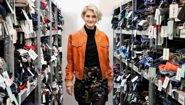 Fesche Jacken und Tausende andere, gut erhaltene Kleidungsstücke gibt es bei Babäm! (Bild: Babäm!)