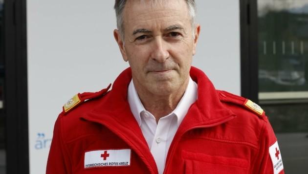Anton Holzer ist der Landesrettungskommandant des Roten Kreuzes Salzburg (Bild: Tschepp Markus)