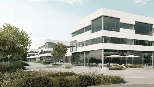 Um 500.000 Euro sollen im Hannak-Neubau in Gnigl sechs Proberäume für die Kultur adaptiert werden. (Bild: Hannak Immobilien)