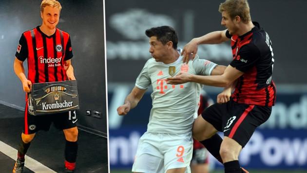 (Bild: AP, twitter.com/Eintracht)