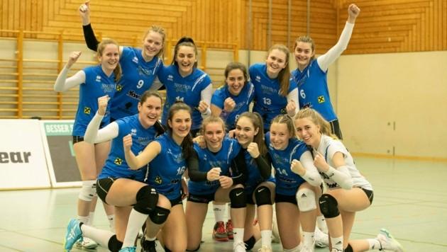Die Dornbirner Volley-Girls sind in dieser Zweitliga-Saison eine Klasse für sich. (Bild: Maurice Shourot)