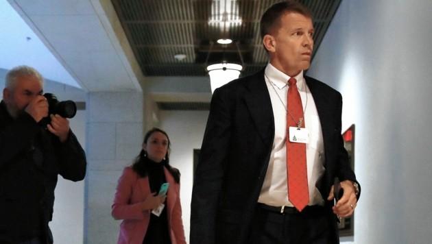 Hat Blackwater-Gründer Erik Prince seine Dienste dem abtrünnigen libyschen General Khalifa Haftar angeboten? (Bild: AP)