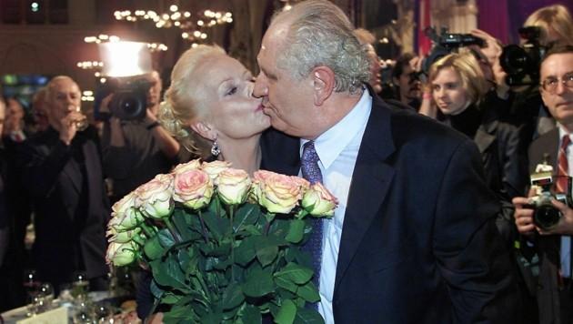 Seit 55 Jahren ein Herz und eine Seele: Angelika und Karl Spiehs. (Bild: Roman Babirad Picture)