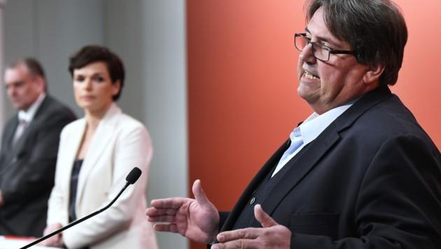 SPÖ-Sozialsprecher Josef Muchitsch (Bild: APA/ROBERT JAEGER)