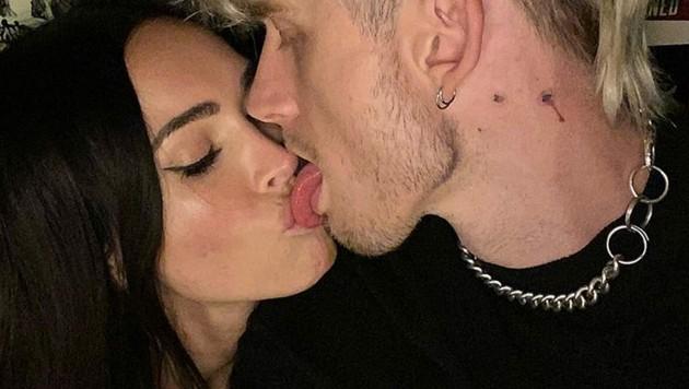 Megan Fox ist ganz verschossen in Machine Gun Kelly. (Bild: instagram.com/meganfox)