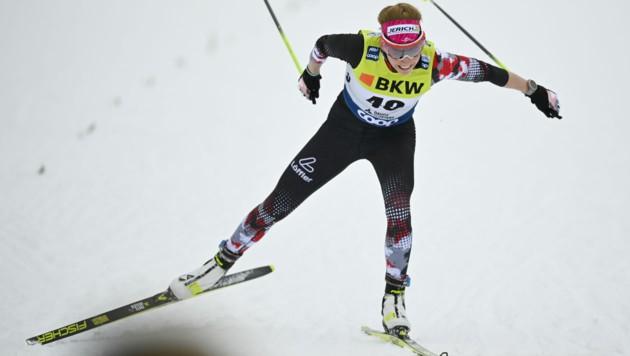 Teresa Stadlober (Bild: APA/KEYSTONE/GIAN EHRENZELLER)