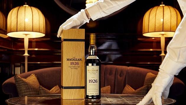 Diese Flasche Whisky war einem Liebhaber eine Million Pfund wert. (Bild: Whisky Auctioneer)