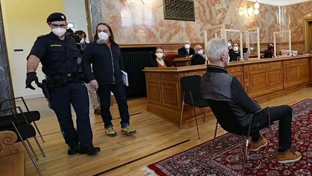 Staatsverweigerer-Prozess im Landesgericht Salzburg (Bild: Markus Tschepp)