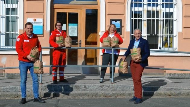 Kartoffel gab's jetzt für die Team Österreich-Tafel (Bild: zvg)