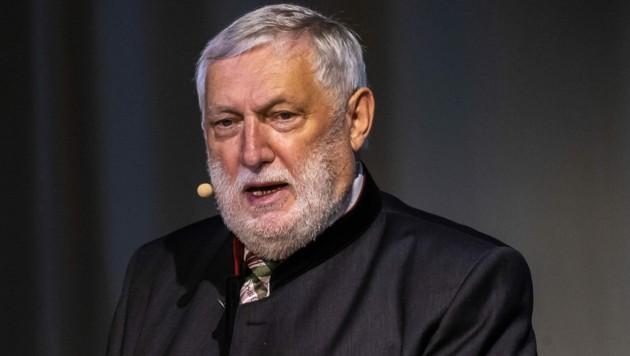 """Franz Fischler übt scharfe Kritik am """"Stil"""" von Kanzler Sebastian Kurz. (Bild: APA/EXPA/JOHANN GRODER)"""