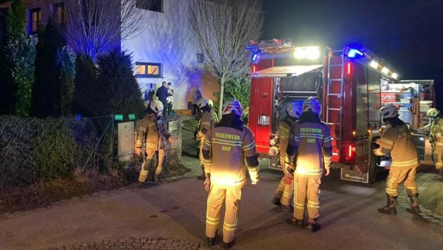 Die Freiwillige Feuerwehr Anif war Mittwochabend im Einsatz. (Bild: Freiwillige Feuerwehr Anif)