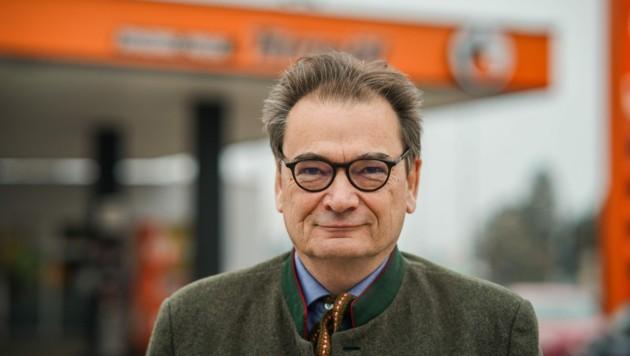 Doppler-Gruppe-Geschäftsführer Bernd Zierhut. (Bild: Markus Wenzel)