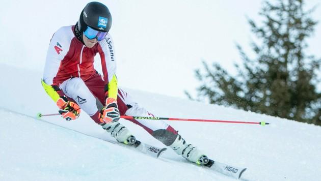 Der 20-jährige Vandanser Paul Vonier konnte in dieser Saison bereits zwei Riesentorläufce auf FIS-Ebene gewinnen. (Bild: Maurice Shourot)