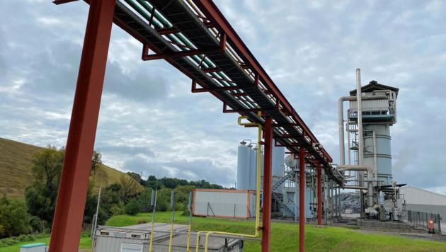 Obwohl es der Umwelt dienen soll: Gegen die Millioneninvestition bei der TIAG in Althofen regt sich Widerstand (Bild: Leitner)