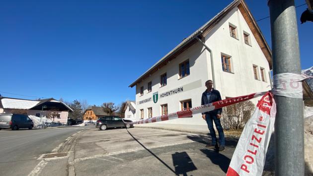 Schauplatz Hohenthurn: Einbruch ins Gemeindeamt. (Bild: Clara Milena Steiner)