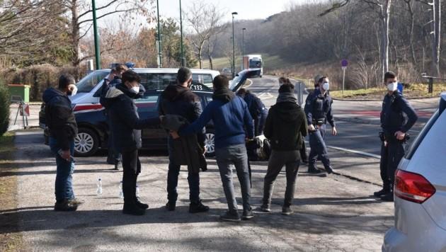 Die Polizei hatte am Freitag im Bezirk Mödling viel zu tun. (Bild: Monatsrevue/Lenger Thomas)