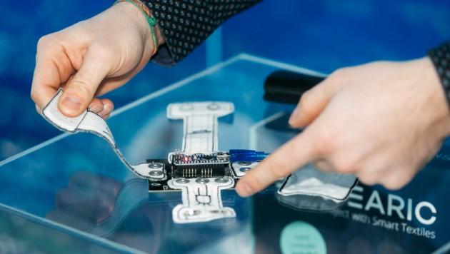 Hightech und smarte Technologien werden auch in der Textilindustrie verarbeitet. (Bild: mathis.studio)